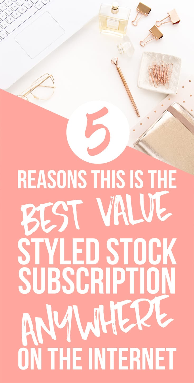 Best Value Styled Stock Photography Subscription EVER!